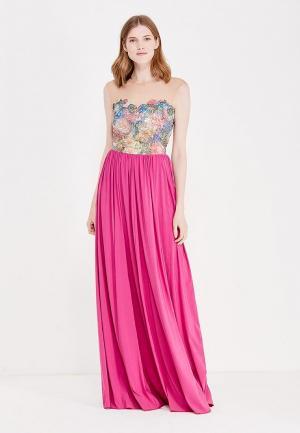 Платье Katya Erokhina. Цвет: розовый