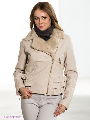 Куртка TOM FARR. Цвет: кремовый