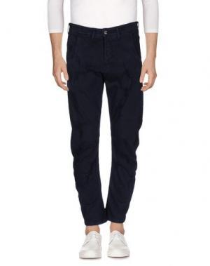 Джинсовые брюки SSEINSE. Цвет: темно-синий