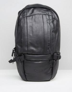 Eastpak Черный кожаный рюкзак Floid. Цвет: черный