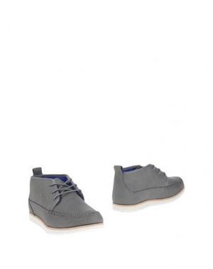 Полусапоги и высокие ботинки BOXFRESH. Цвет: серый