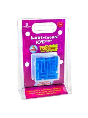 Лабиринтус Куб, 6см, синий Labirintus. Цвет: синий