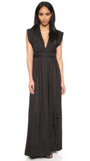 Платье Voss Gat Rimon. Цвет: нуар