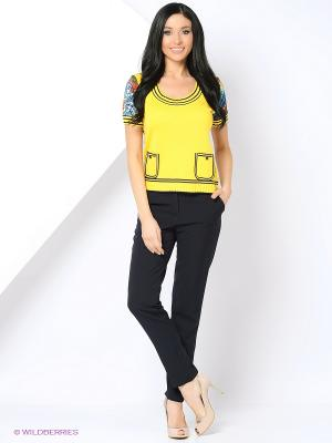 Джемпер KTF Collection. Цвет: желтый