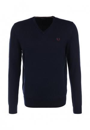 Пуловер Fred Perry. Цвет: синий
