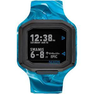 Электронные часы  Ultratide AN Waves 4 Water Nixon. Цвет: голубой,серый