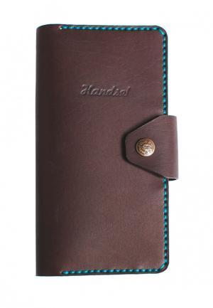 Портмоне Handsel. Цвет: коричневый