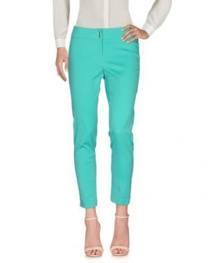 Повседневные брюки KITTE. Цвет: светло-зеленый