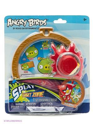 Игра детская Сердитые Птички, дартс, мяч-лизун в наборе ANGRY BIRDS. Цвет: красный