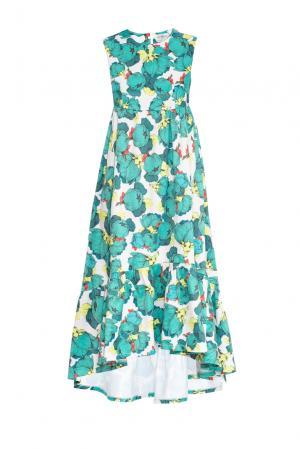 Платье 159373 Y.amelina. Цвет: разноцветный