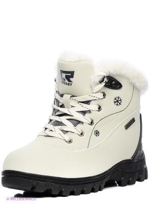 Ботинки Crosby. Цвет: белый