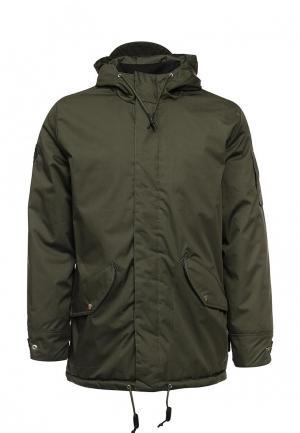Куртка утепленная Bellfield. Цвет: хаки