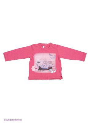 Лонгслив CHICCO. Цвет: розовый