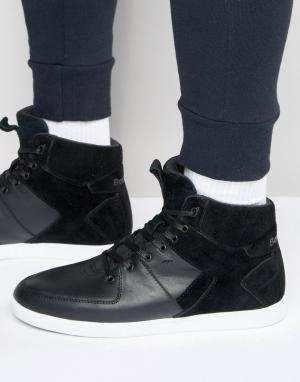 Boxfresh Высокие кроссовки Camberwell. Цвет: черный