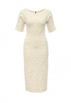 Платье Uona. Цвет: белый