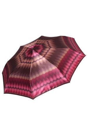 Зонт Fabretti. Цвет: коричневый, красный