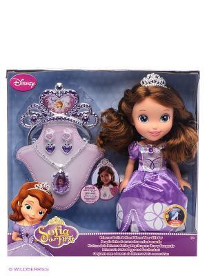 Кукла София Принцессы Дисней Disney Princess. Цвет: фиолетовый