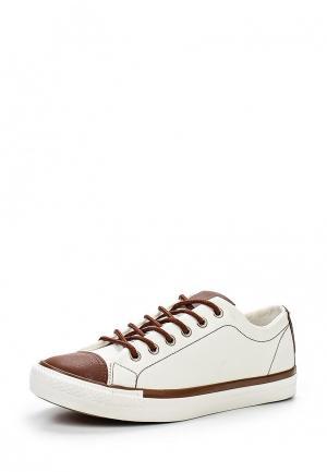 Кеды T.P.T. Shoes. Цвет: бежевый