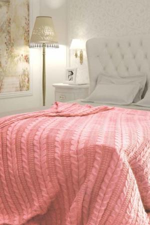 Плед 180х210 см Buenas Noches. Цвет: розовый