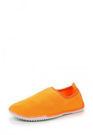 Слипоны Ideal. Цвет: оранжевый