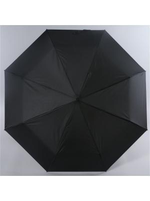 Зонт Magic Rain, Мужской, 3 сложения, Механика, Полиэстер Rain. Цвет: черный
