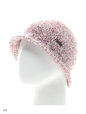 Шляпа Меланжевая ТТ. Цвет: бордовый, белый