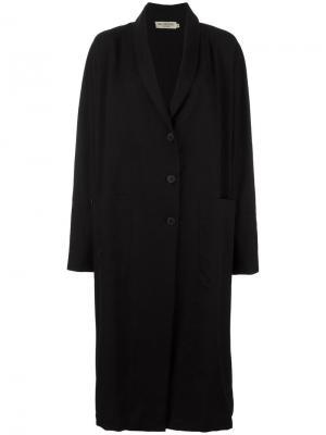 Пальто Altea Ivan Grundahl. Цвет: чёрный