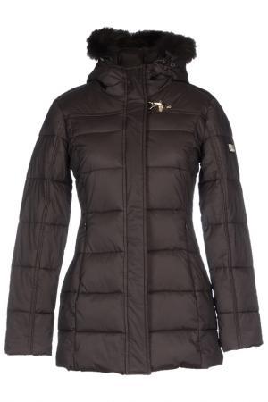 Jacket YES ZEE BY ESSENZA. Цвет: dark brown