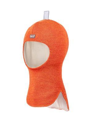 Шапка-шлем TEYNO. Цвет: оранжевый