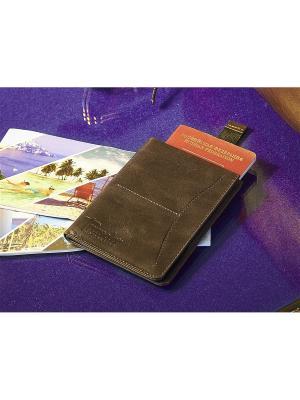 Органайзер/бумажник Вектор. Цвет: коричневый