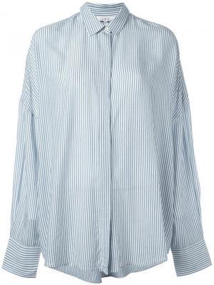 Рубашка Marka Iro. Цвет: синий