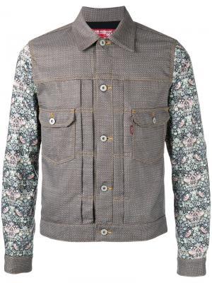Куртка с нагрудными карманами Junya Watanabe Comme Des Garçons Man. Цвет: коричневый