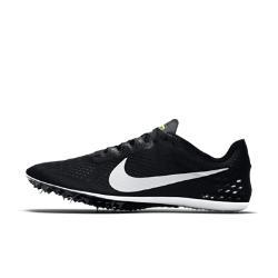 Беговые шиповки унисекс  Zoom Victory Elite 2 Nike. Цвет: черный