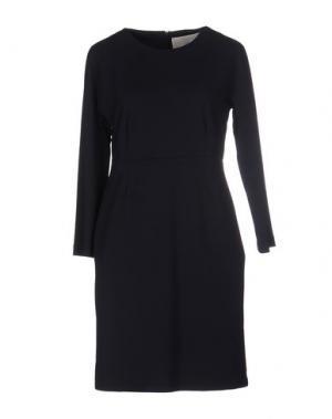 Короткое платье ..,MERCI. Цвет: темно-синий