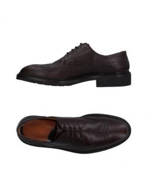 Обувь на шнурках LOTTUSSE. Цвет: темно-коричневый