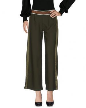 Повседневные брюки KING KONG. Цвет: зеленый-милитари