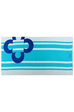 Beach Towel Marie claire. Цвет: white and turquoise
