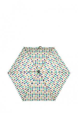 Зонт складной United Colors of Benetton. Цвет: бежевый