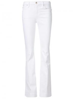 Классические джинсы с кроем ниже колена Joes Jeans Joe's. Цвет: белый
