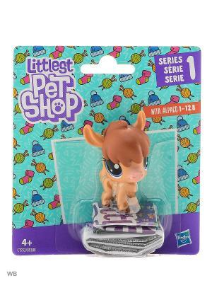 Пет Littlest Pet Shop. Цвет: светло-коричневый