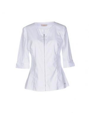 Pубашка MARANI JEANS. Цвет: белый