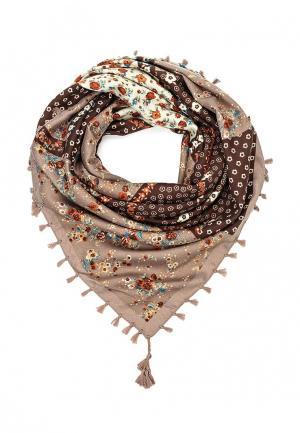 Платок Laura Milano. Цвет: коричневый