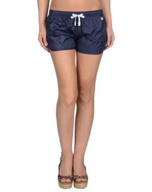 Пляжные брюки и шорты PANTONE UNIVERSE BY SONIA SPENCER. Цвет: темно-синий