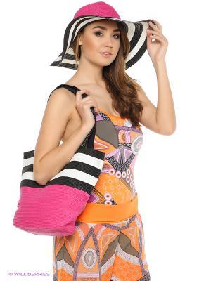 Комплект шляпа+сумка Moltini. Цвет: красный