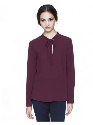 Рубашка United Colors of Benetton. Цвет: темно-красный