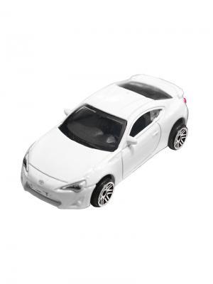Машинка Toyota GT-86, Белая (1:64) (PS-0616617-W) Pit Stop. Цвет: белый