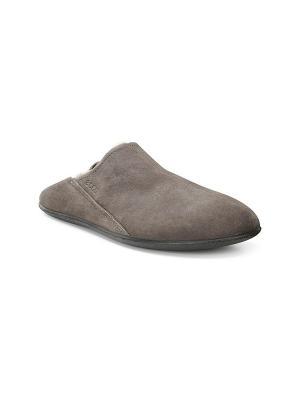 Домашняя обувь ECCO. Цвет: темно-коричневый