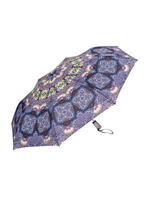 Зонт Slava Zaitsev. Цвет: сиреневый, черный