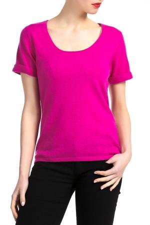 Блуза LES ATELIERS DE LA MAILLE. Цвет: розовый