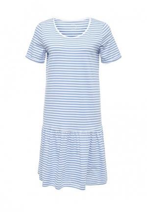 Платье Selected Femme. Цвет: голубой